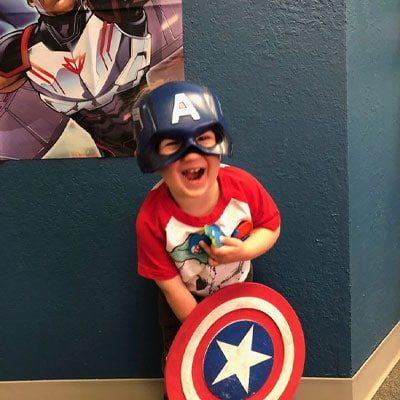 Chiropractic El Paso TX Little Boy Marvel