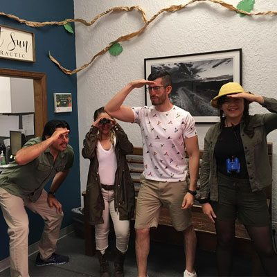 Chiropractor El Paso TX Michael Ontiveros and Team Safari